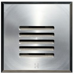Hunza Step Lite Louvre Square stainless